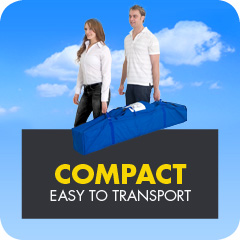 Compact and easy to transport